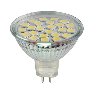 Лампа LED smd MR16-6w-827-GU5.3 (10/100/2400) Эра