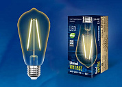 Лампа винтаж LED-ST64-4W/GOLDEN/E27 GL22GO